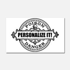 personalized poison Car Magnet 20 x 12