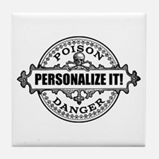 personalized poison Tile Coaster