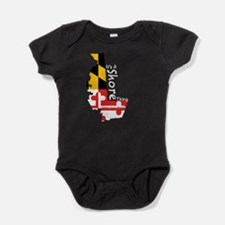 Its A Shore Thing (White) Baby Bodysuit