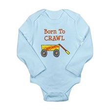 Cute Crawlers Long Sleeve Infant Bodysuit