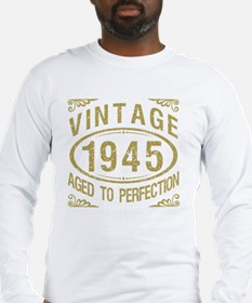 Vintage 1945 Birthday Long Sleeve T-Shirt