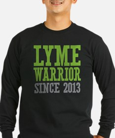 Lyme Warrior Since 2013 Long Sleeve T-Shirt