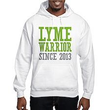 Lyme Warrior Since 2013 Hoodie
