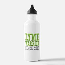 Lyme Warrior Since 201 Water Bottle