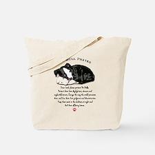 Pit Bull Prayer Tote Bag