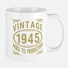 Vintage 1945 Birthday Mugs