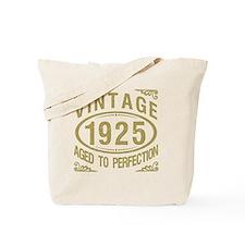 Vintage 1925 Birthday Tote Bag