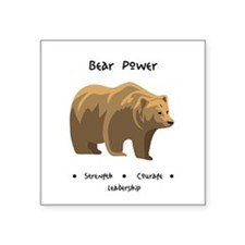 Bear Totem Power Sticker