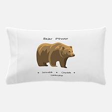 Bear Totem Power Pillow Case