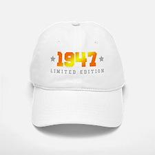 Limited Edition 1947 Birthday Baseball Baseball Cap