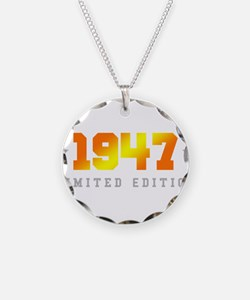 Limited Edition 1947 Birthday Necklace