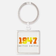 Limited Edition 1947 Birthday Keychains