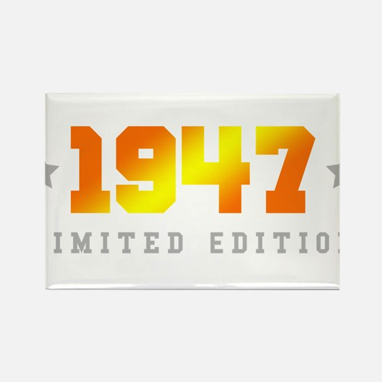 Limited Edition 1947 Birthday Magnets