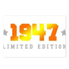 Limited Edition 1947 Birthday Postcards (Package o