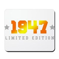 Limited Edition 1947 Birthday Mousepad