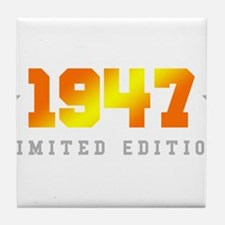 Limited Edition 1947 Birthday Tile Coaster