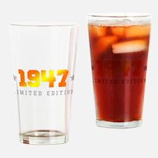 Limited Edition 1947 Birthday Drinking Glass