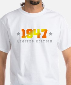 Limited Edition 1947 Birthday T-Shirt