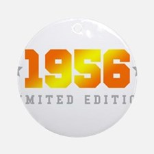 Limited Edition 1956 Birthday Round Ornament