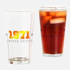 Limited Edition 1971 Birthday Drinking Glass