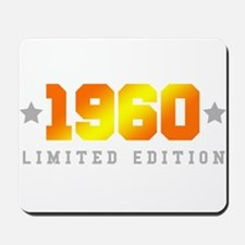 Limited Edition 1960 Birthday Mousepad