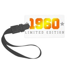 Limited Edition 1960 Birthday Luggage Tag