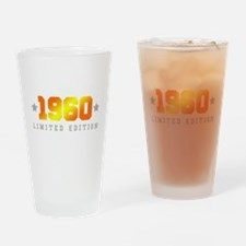 Limited Edition 1960 Birthday Drinking Glass