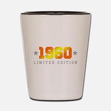 Limited Edition 1960 Birthday Shot Glass