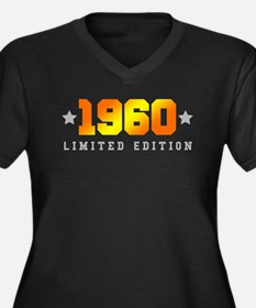 Limited Edition 1960 Birthday Plus Size T-Shirt