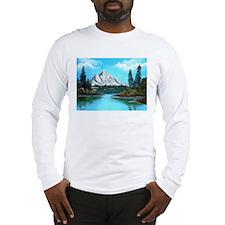Colorado Mountain Lake Long Sleeve T-Shirt