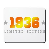 Limited Edition 1936 Birthday Mousepad