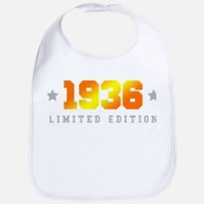 Limited Edition 1936 Birthday Bib