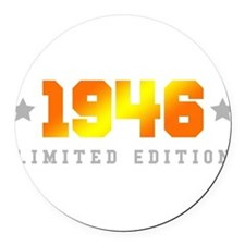 Limited Edition 1946 Birthday Round Car Magnet