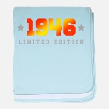 Limited Edition 1946 Birthday baby blanket