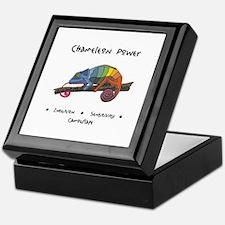 Chameleon Animal Totem Power Keepsake Box