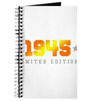 Limited Edition 1945 Birthday Journal