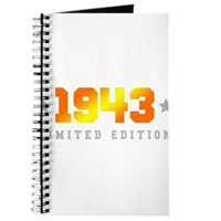 Limited Edition 1943 Birthday Journal