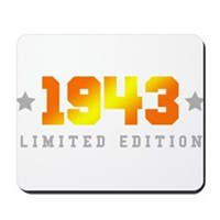 Limited Edition 1943 Birthday Mousepad