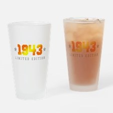 Limited Edition 1943 Birthday Drinking Glass