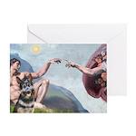 Creation / G-Shep Greeting Card