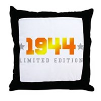 Limited Edition 1944 Birthday Throw Pillow