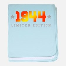 Limited Edition 1944 Birthday baby blanket