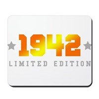 Limited Edition 1942 Birthday Mousepad