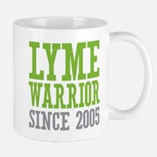 Lyme Warrior Since 2005 Mugs