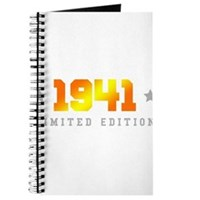 Limited Edition 1941 Birthday Journal