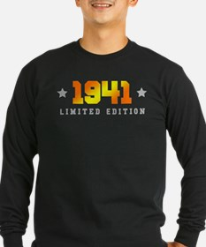 Limited Edition 1941 Birthday Long Sleeve T-Shirt