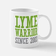 Lyme Warrior Since 2003 Mugs