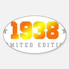 Limited Edition 1938 Birthday Decal