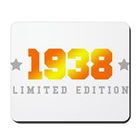 Limited Edition 1938 Birthday Mousepad