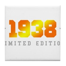 Limited Edition 1938 Birthday Tile Coaster